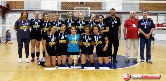 Α.Σ.Ε. Νεωρίου ΣΥΡΟΥ  Κατέκτησε τη 2η θέση στο Πρωτάθλημα Κυκλάδων –  Συγχαρητήρια επιστολή 4d3a2af5397